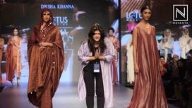 Diksha Khanna Showcases her Collection at LMIFW AW19