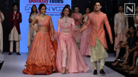 Hina Khan and Priyank Sharma Turn Showstoppers for Sonali Jain at BTFW 2019
