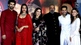 The Grand Starcast of Kalank Comes Together for its Teaser Launch