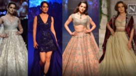 Here are Top 5 Looks of Kangana Ranaut as Showstopper on her Birthday