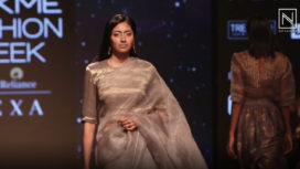 Latha Showcases a Retro Collection at Lakme Fashion Week Summer Resort 2019