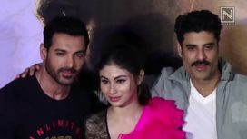 John Abraham and Mouni Roy Launch the Trailer of Romeo Akbar Walter