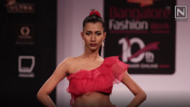 Piyanshu Bajaj Showcases her Collection at Bangalore Fashion Week Summer Online 2019