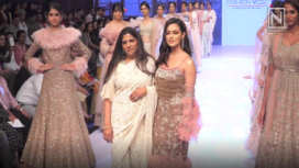 Sana Khan Turns Muse to Adhya by Shakuntala Shetty at Bombay Times Fashion Week 19