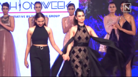 Soundarya Sharma Turns Gorgeous Showstopper for Swati Mishra at BTFW 19