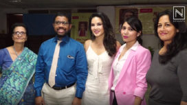 Sunny Leone Supports the Aquatic Therapy Cause