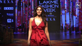 Vaani Kapoor Turns Showstopper for Shivan & Narresh at Lakme Fashion Week SR19
