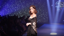 Yami Gautam Stuns as Showstopper for Rina Dhaka at Blenders Pride Fashion Tour 2019