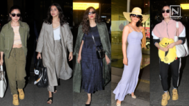 Bollywood Celebrities Keeping Their Airport Fashion Game on Point