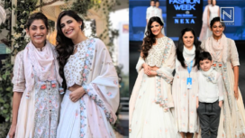 Designers and their Showstoppers - Aahana Kumra and Kubbra Sait