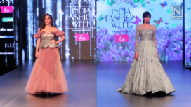 Designers and Their Showstoppers -Dipannita Sharma and Sophie Choudry
