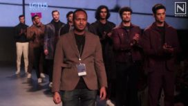 Dhruv Vaish Showcases Men's Ready to Wear Collection at LMIFW AW19
