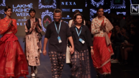 Jajaabor by Kanika Sachdev and Neelanjan Ghosh at LFW SR19