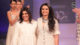 Jayshri Takalkar Showcases her Collection at Bangalore Fashion Week 2019