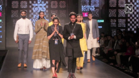 Tiso Ghari by Badal and Bhoomi Showcases at Lotus Makeup India Fashion Week AW19
