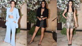 Bollywood Stars Attend Manish Malhotra's Dinner Bash