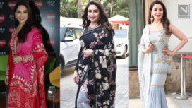 Madhuri Dixit's Top 5 Looks from Kalank Promotions