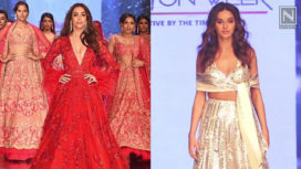 Designers and their Showstoppers - Malaika Arora and Shibani Dandekar