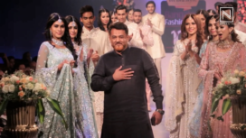 Meraj Anwar Showcases his Bridal Collection at Bangalore Fashion Week 2019