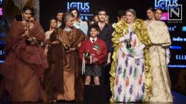Prashant Verma Showcases a Musical Runway Show at LMIFW AW19