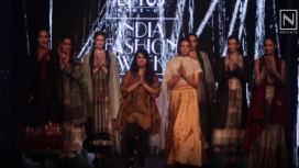 Pratima Pandey Showcases her Collection at Lotus Makeup India Fashion Week Autumn Winter 2019