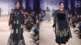 Rahul Mishra Showcases at Lotus Makeup India Fashion Week Autumn Winter 2019