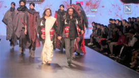 SGBG Atelier by Surya Giri and Bindu Giri Showcases their Collection at LMIFW AW19