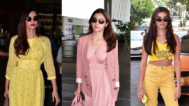 Top 10 Celebrity Airport Looks from April 2019