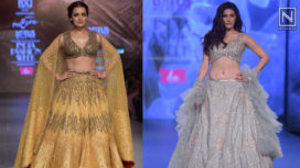 Designers and their Showstoppers - Dia Mirza and Amyra Dastur