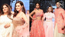 Designers and Their Showstoppers - Sana Khaan, Hina Khan, and Priyank Sharma