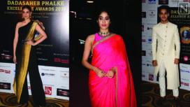 Bollywood Celebrities at Dada Saheb Phalke Awards 2019