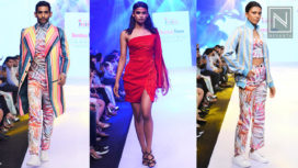 Students of INIFD Present their Designs at BTFW 2019