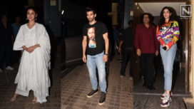 Bollywood Celebrities Present at the Screening of Kalank