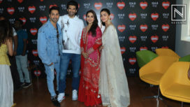Kalank Promotions with the Star Cast at the Radio Station