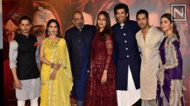 The Star Cast of Kalank Launches its Official Trailer