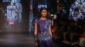 Kommal Sood Presents at Lotus Makeup India Fashion Week Autumn Winter 2019