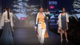 Young Designers Present Liva Protege at Lotus Makeup India Fashion Week AW19