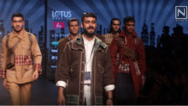Paras Chawla Showcases Menswear Brand Naka Clothing at LMIFW AW19