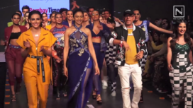 Rakul Preet, Mandana Karimi & Karishma Sharma Walk at Bombay Times Fashion Week 19