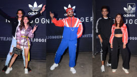 Bollywood Celebrities Attend the Adidas Nite Jogger Launch Event