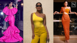 Celebs who are Keeping their Fashion Game on Fleek with the One-Shoulder Trend
