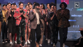 Suket Dhir Showcases at Lotus Makeup India Fashion Week Autumn Winter 2019