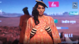 Vineet Bahl Showcases at Lotus Makeup India Fashion Week Autumn Winter 2019