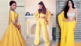 Bollywood Divas Perfectly Acing their Fashion Game in Bright Yellows