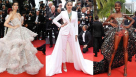 Top 10 Best Dressed Celebrities on the Red Carpet of Cannes Film Festival 2019