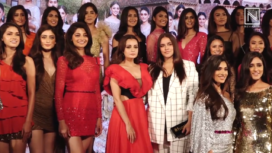 Celebs at the Launch Party of Fbb Colors Femina Miss India 2019