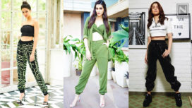 Bollywood Celebs Slaying in the Ultimate Street Style Staple Jogger Pants
