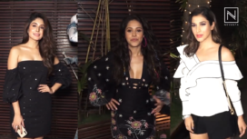 Nushrat Bharucha's Birthday Bash with Bollywood Celebs
