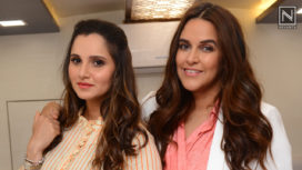 Sania Mirza and Neha Dhupia Talk about Motherhood at an Event