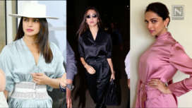 Bollywood Trendsetters Serving Classy Looks in Satin Ensembles
